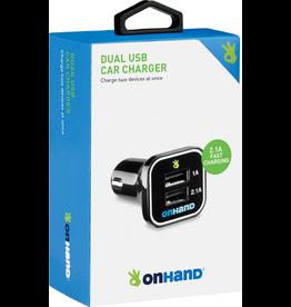 OnHand OnHand Car Charger - Black BP