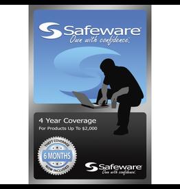Safeware SafeWare 4YR UP to $2,000 Blue
