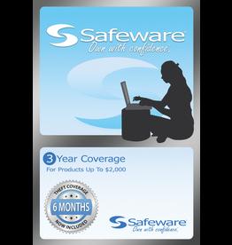 Safeware SafeWare 3YR UP TO $2000 Light Blue