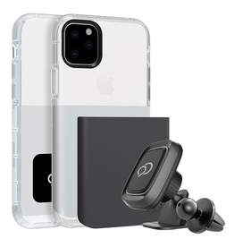 Nimbus9 Nimbus9 Ghost 2 w/mount iPhone 11 Pro - Gunmetal/White