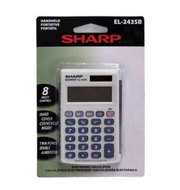 Sharp Calculator EL-243SB