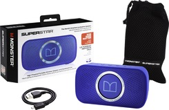 Monster SuperStar HD BT Speaker - Blue