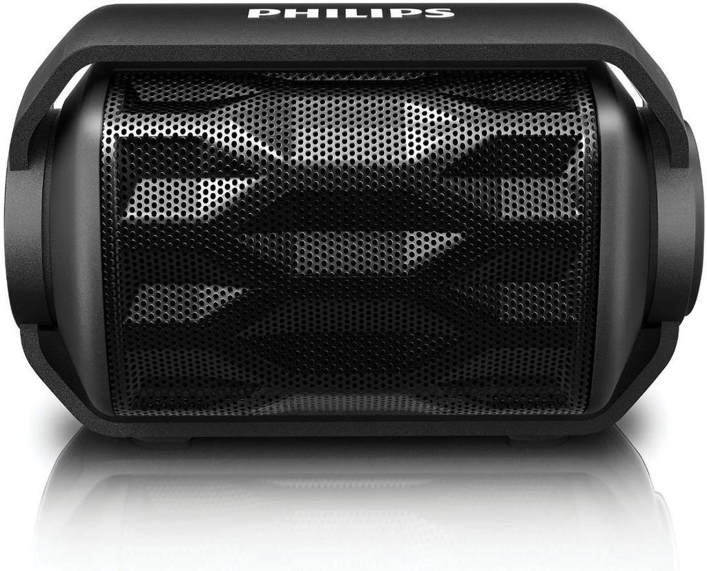 Philips Philips Rugged BT Speaker Waterproof/Floating - Black