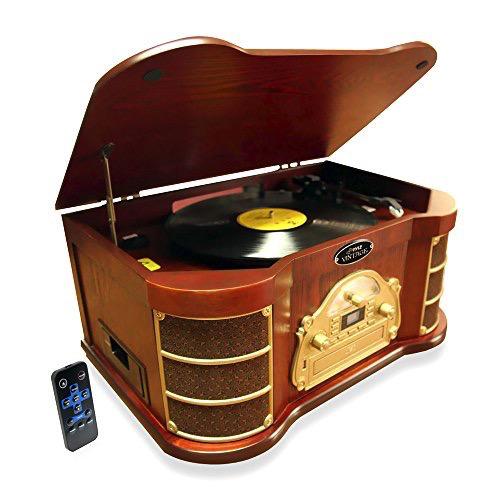 Pyle BT Vintage Turn Table Speaker