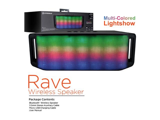 HyperGear HyperGear Rave Wireless BT Speaker
