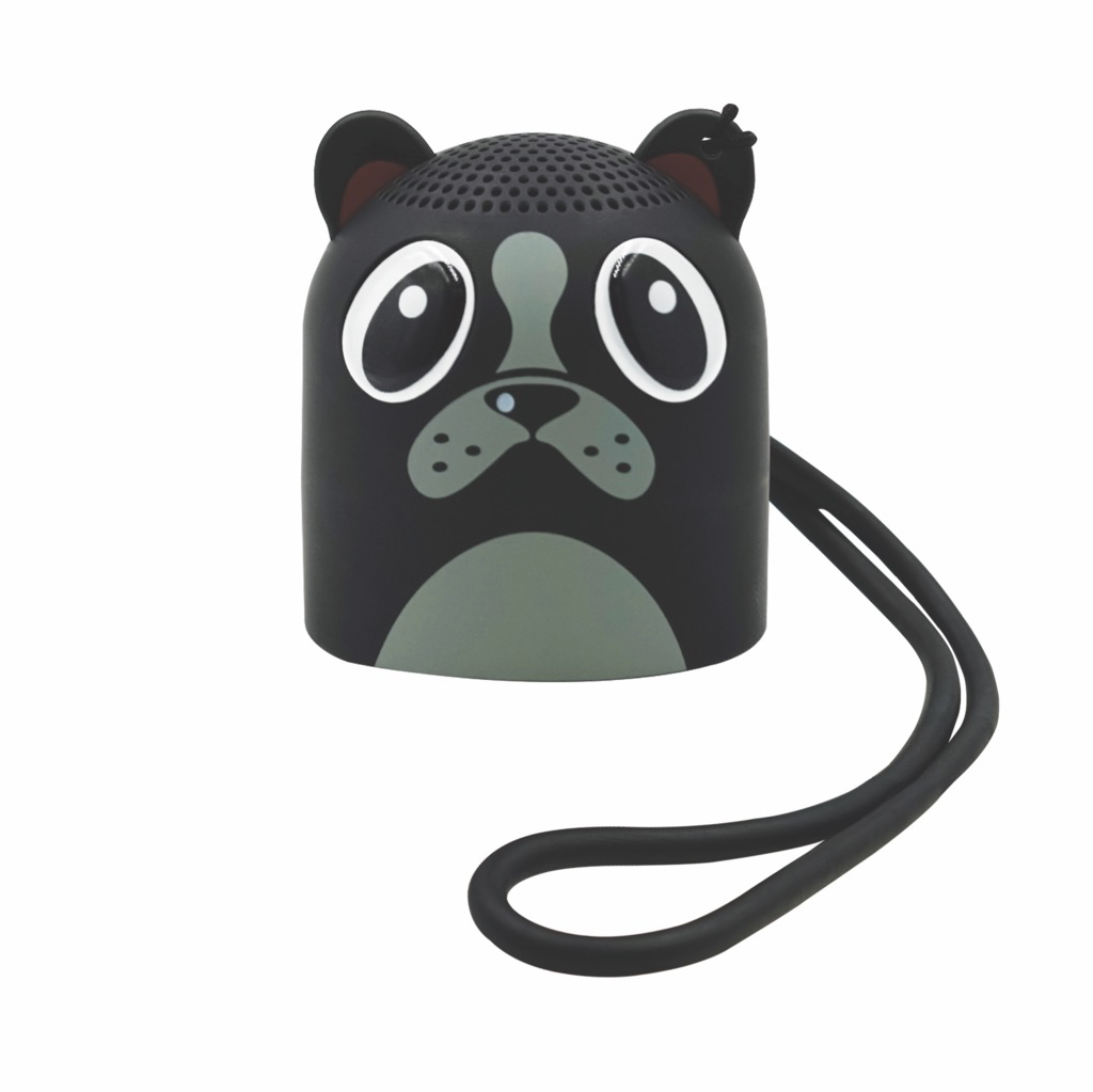 Candywirez Candywirez BT Speaker w/ Selfie Remote - Puppy