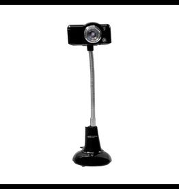 HamiltonBuhl HamiltonBuhl SuperFlix 720p Webcam Gooseneck Stand - Black/Silver