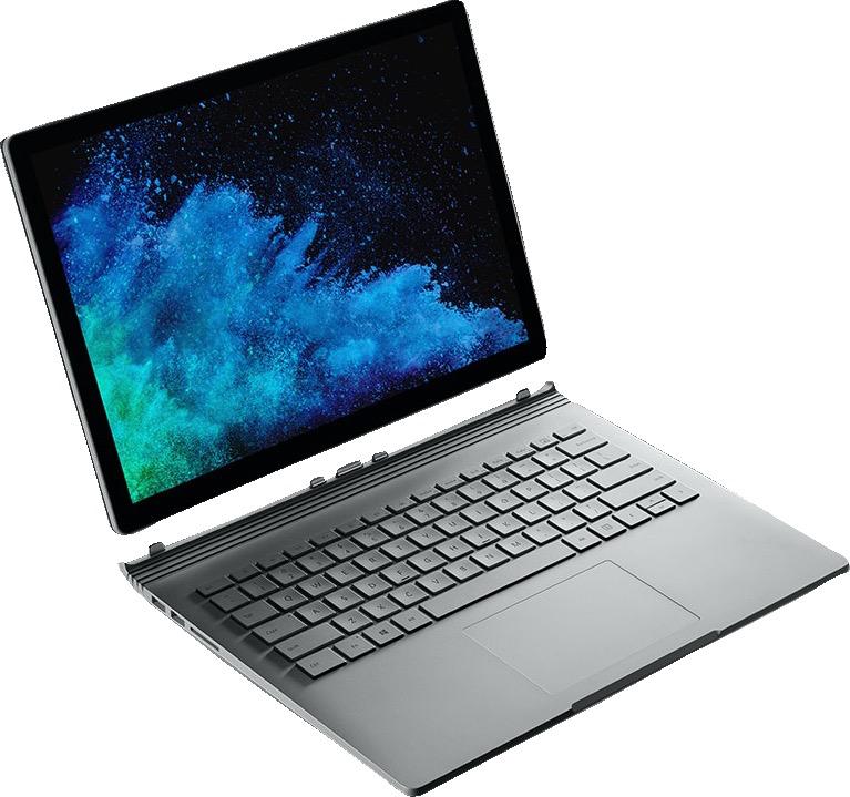 "Microsoft Microsoft Surface Book 2 13.5"" i7/8GB/256GB/GTX 1050 - Silver"