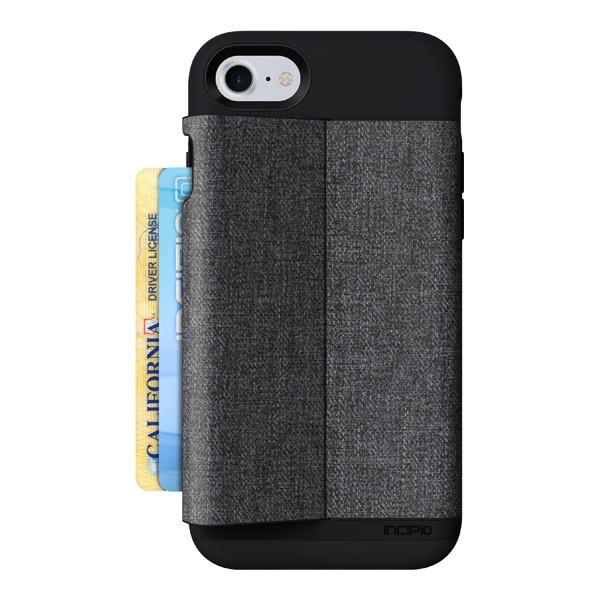 Incipio Incipio Esquire Series Wallet Case for iPhone 7- Heather Dark Gray