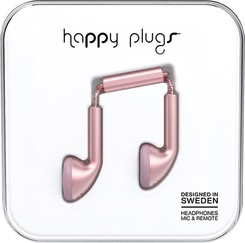 HappyPlugs Happy Plugs Earbuds - Pink Gold