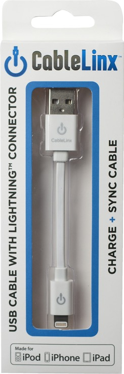 CableLinx Lightning Charge Cable - White
