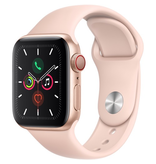 Apple MWWP2LL/A Apple Watch S5 40mm - Gold/Pink Sportband (Cellular)