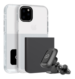 Nimbus9 Nimbus9 Ghost 2 w/mount iPhone 11 Pro Max - Gunmetal/White
