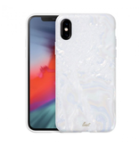 LAUT LAUT Pearl Case for iPhone X/XS - Arctic Pearl