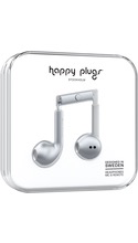 HappyPlugs Happy Plugs Earbuds w/ Mic - Space Gray