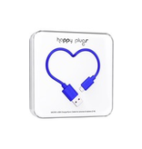 HappyPlugs Happy Plugs Micro-USB Cable 2M - Cobalt