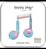 HappyPlugs Happy Plugs Earbuds Plus w/ Mic - Botanica Exotica