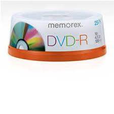 Memorex DVD-R 25pk 16X