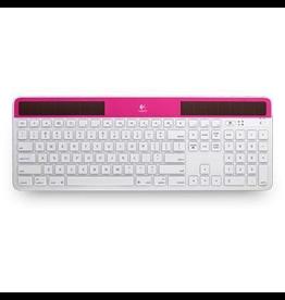 Logitech Logitech Wireless RF Solar Keyboard K750 for Mac Pink