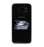 Logo Hybrid Phone Case for Samsung Galaxy S6 - Clear
