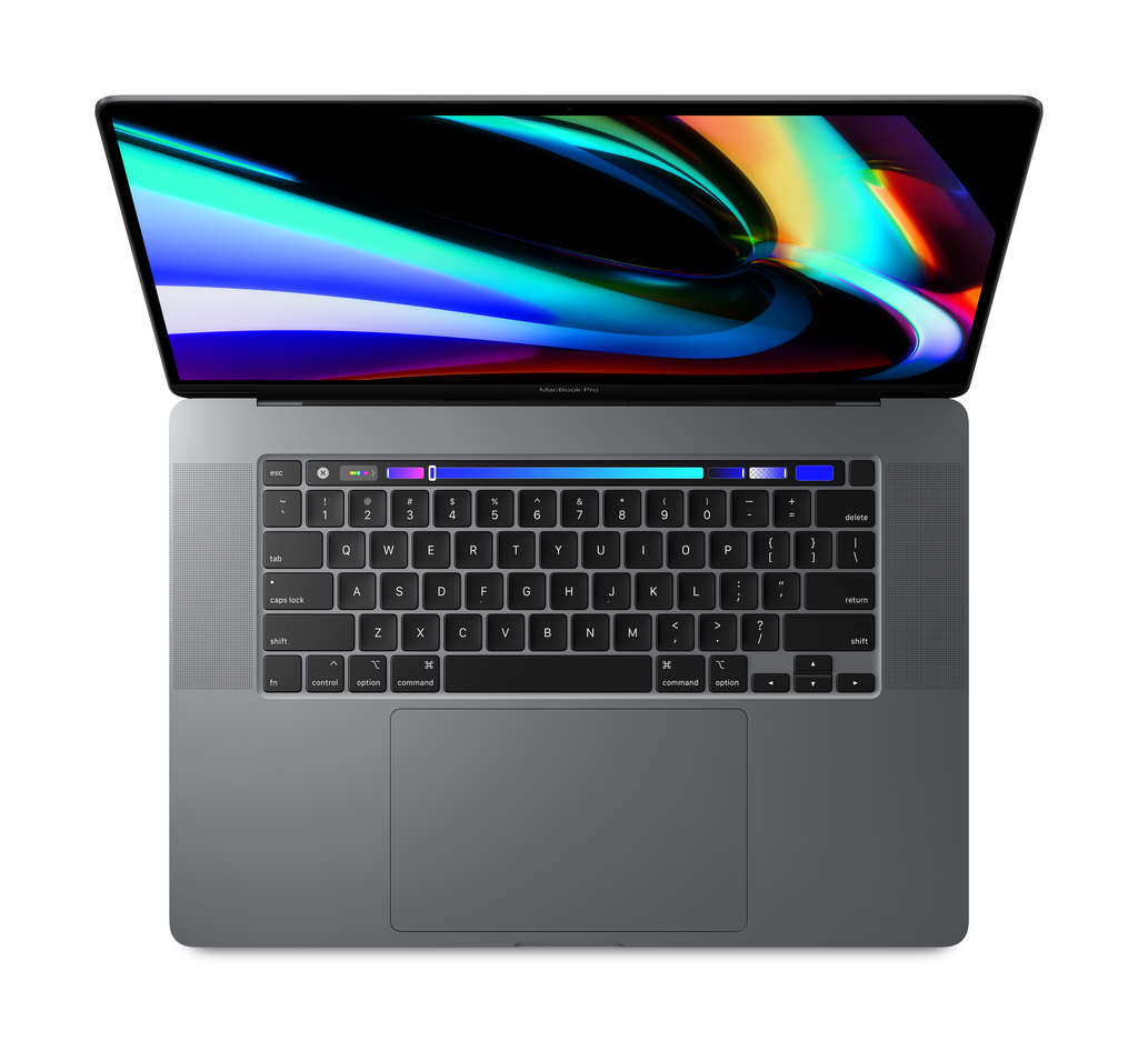 """Apple MVVJ2LL/A Macbook Pro 16"""" 2.6GHz i7/16GB/512GB - Space Gray w/Retina and Touch Bar"""