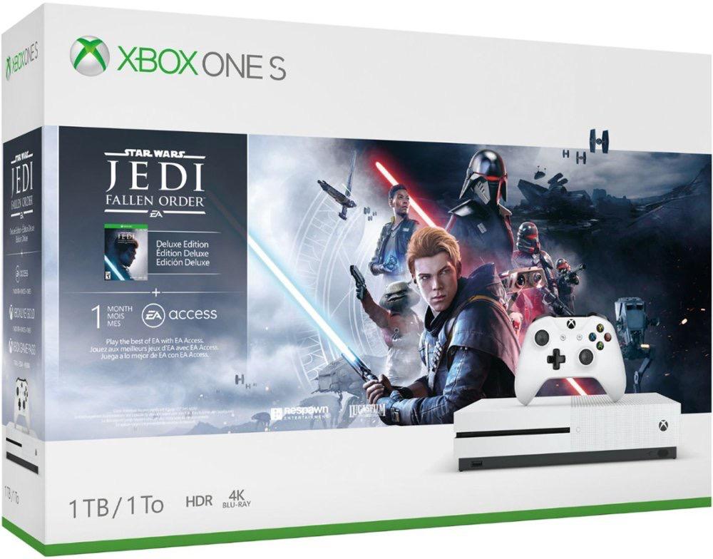 Microsoft Microsoft Xbox One S 1TB - Star Wars Fallen Order Bundle