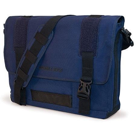 Mobile Edge MOBILE EDGE MECME3 Eco-Friendly Canvas Messenger Bag for 17.3 Notebooks (Navy)