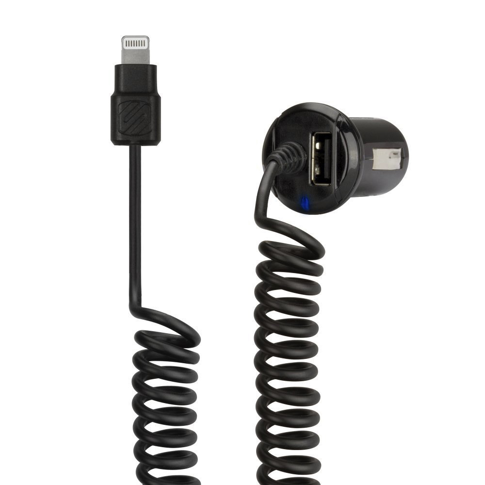 Schosche StrikeDrive Car Charger Lightning Cable