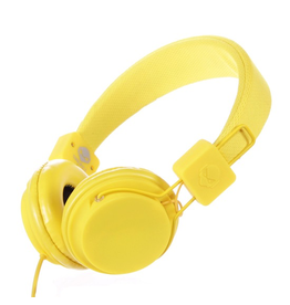 TNT TNT Headphones - Yellow