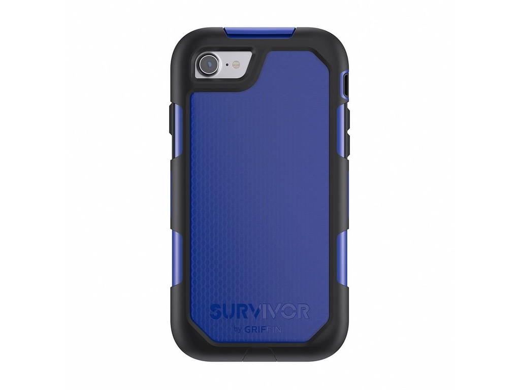 Griffin Survivor Summit Carrying Summit for iPhone 7 - Black/Blue