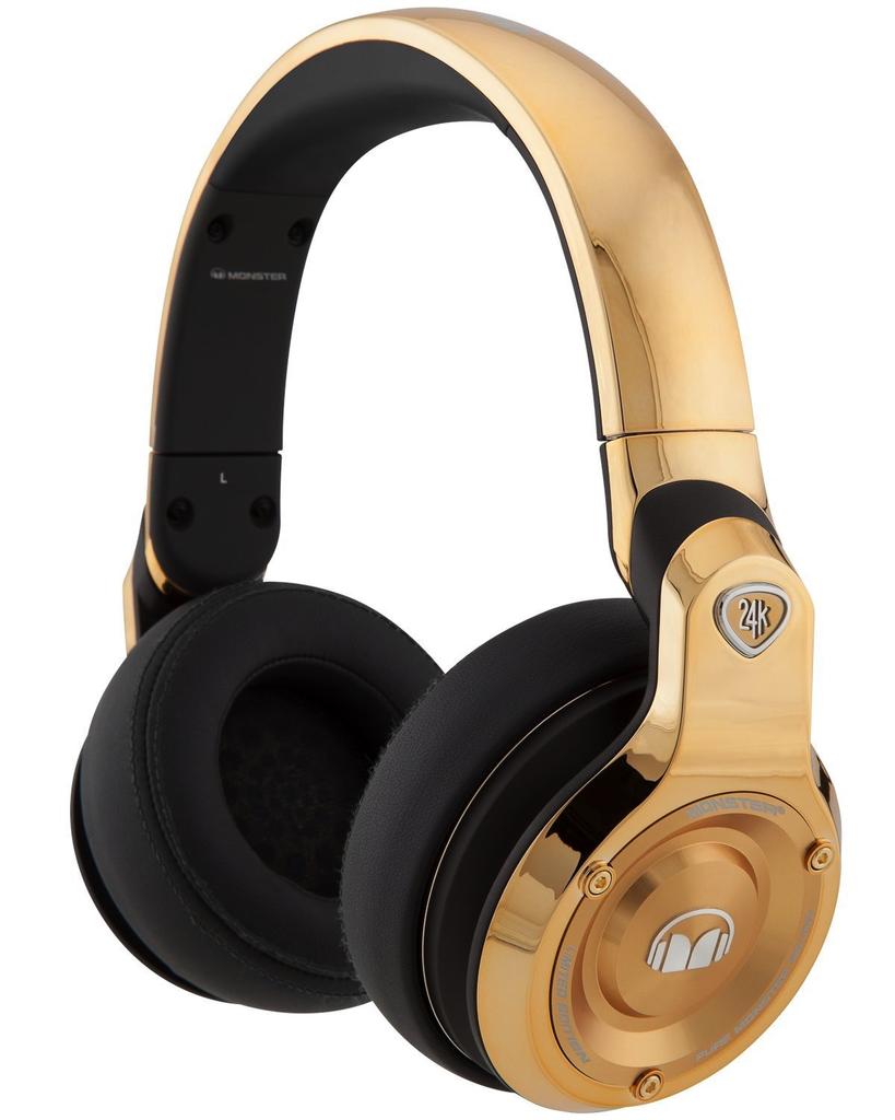 Monster 24K Headphones - Gold