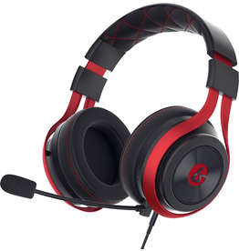 Lucid Lucid LS25 eSports Gaming Headset - Red