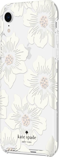 Kate Spade New York Kate Spade Hardshell Case for iPhone XR - Hollyhock Floral