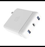 HyperDrive 87W PD USB-C Hub [USB-C, 2xUSB-A]