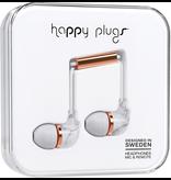 HappyPlugs Happy Plugs In-Ear Earbuds - Marble White