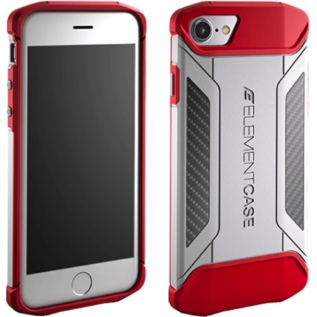 Element Case CFX Case for iPhone 7 - White/Red