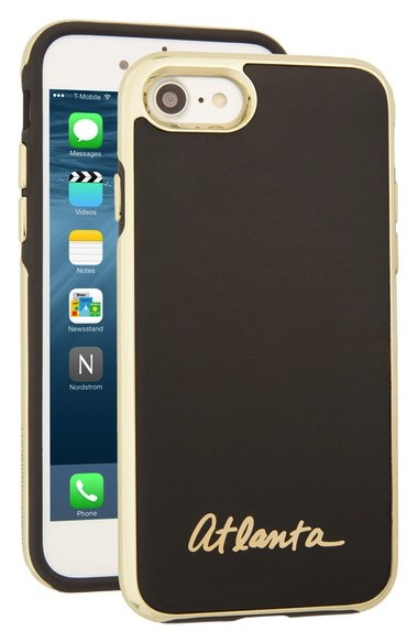 Rebecca Minkoff Luxe Double Up Case for iPhone 7 - New York