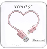 HappyPlugs Happy Plugs Lightning Charge Cable 2M - Pink Gold