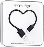 HappyPlugs Happy Plugs Micro-USB Charge Cable 2M - Black