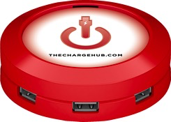 CableLinx Power Charge Hub [7xUSB-A] - Red