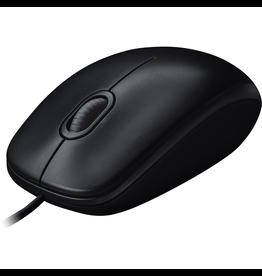 Logitech Logitech M100 Mouse Wired - Black