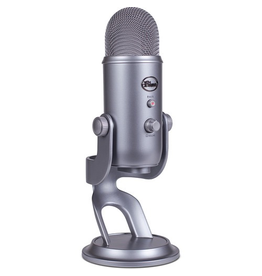 Blue Blue Yeti USB-A microphone - Cool Gray