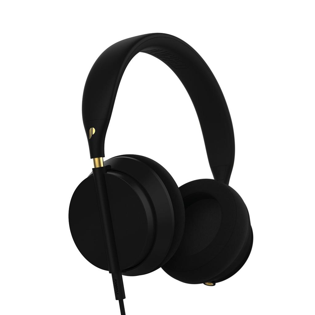 Plugged Crown Series Headphone - Black