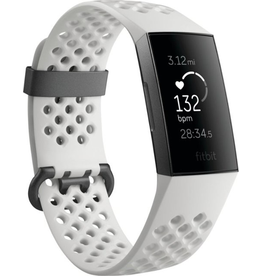 Fitbit Fitbit Charge 3 HR Special Edition Tracker - White/Gray