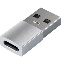 Satechi Satechi USB-A to USB-C Female Adapter - Silver