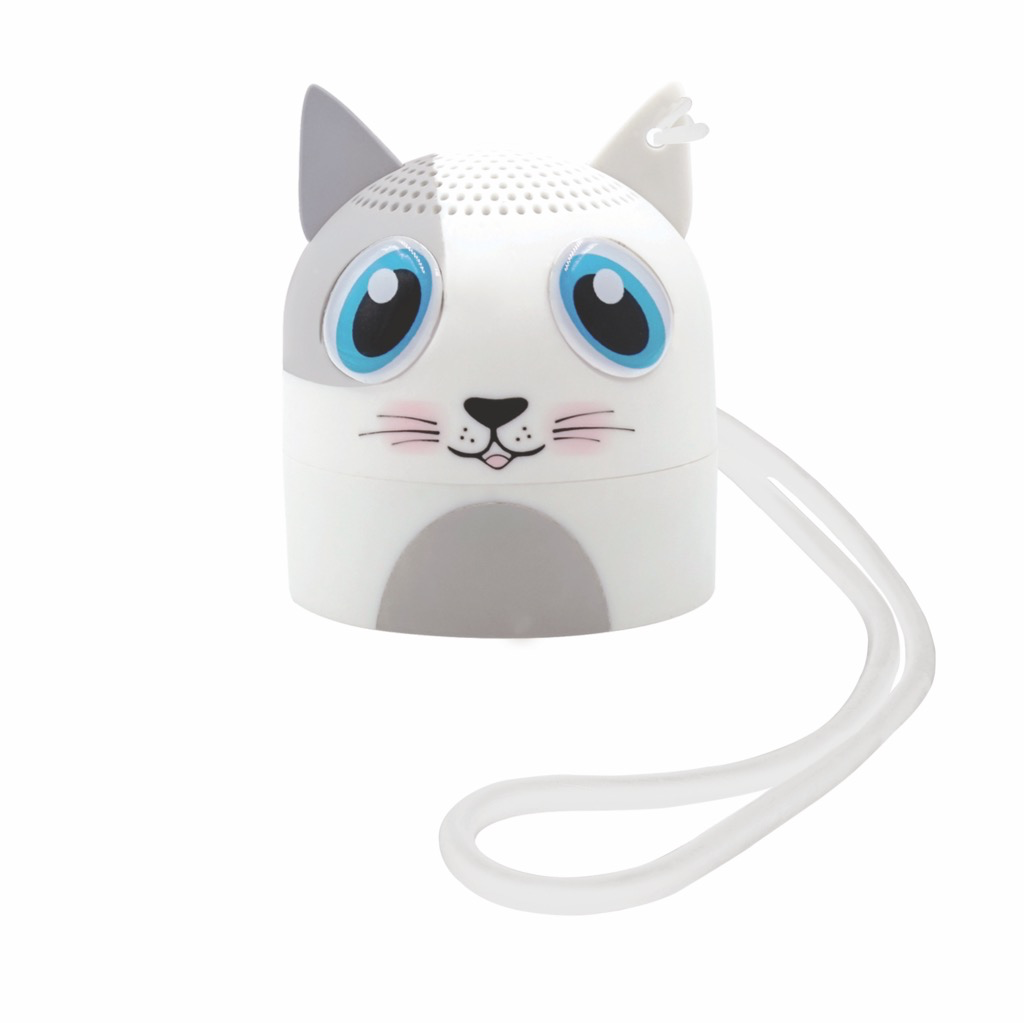 Candywirez Candywirez BT Speaker w/ Selfie Remote - Kitty