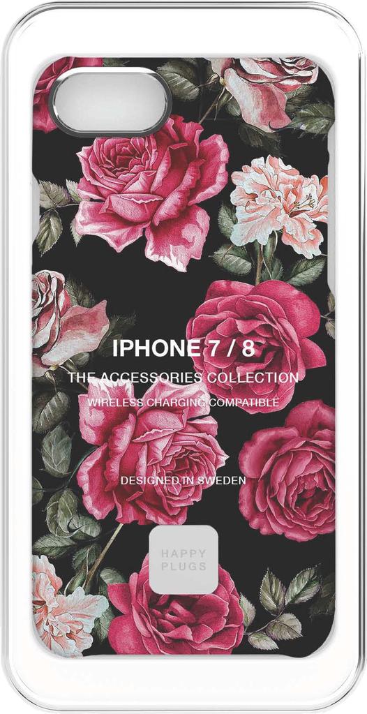 HappyPlugs Happy Plugs Slim Case for iPhone 7/8 - Vintage Roses