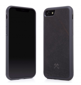 Woodcessories Woodcessories EcoCase for iPhone 7/8 - Volcano Black