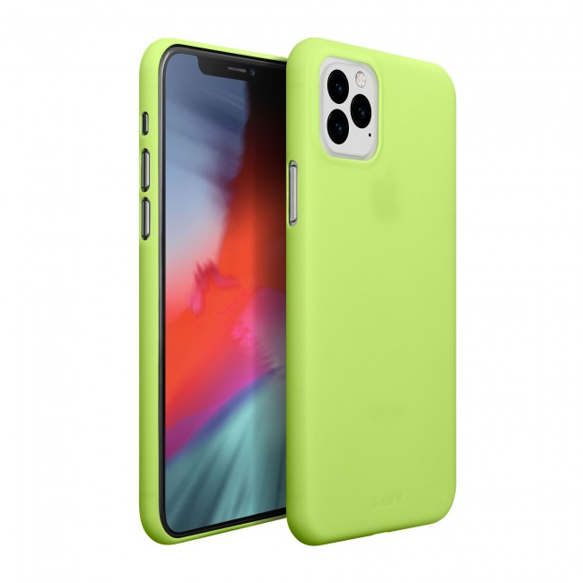LAUT LAUT Slimskin iPhone 11 Pro Max - Acid Yellow