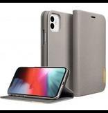 LAUT LAUT Prestige Folio iPhone 11 - Taupe